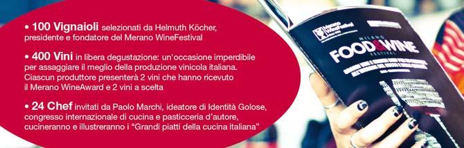 Grandi vini e grandi chef al Milano Food&Wine Festival